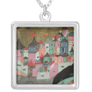 The Siege of Belgrade Personalized Necklace