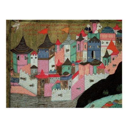 The Siege of Belgrade Postcard