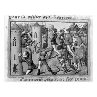 The Siege of Jargeau Postcard