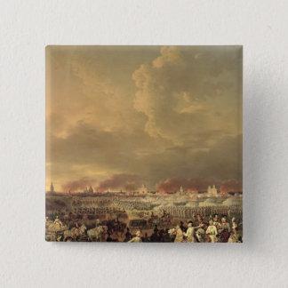 The Siege of Lille by Albert de Saxe-Tachen 15 Cm Square Badge