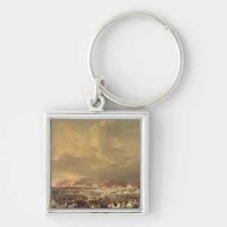 The Siege of Lille by Albert de Saxe-Tachen Key Ring