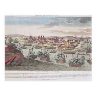 The Siege of Malta, 12th June 1798 Postcard