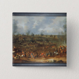 The Siege of Namur, 1692, 18th century 15 Cm Square Badge