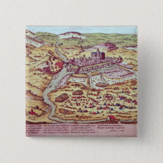 The Siege of St. Quentin, 27th July 1557 15 Cm Square Badge
