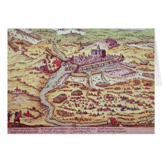The Siege of St. Quentin, 27th July 1557 Card