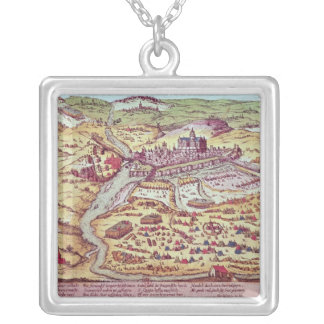 The Siege of St. Quentin, 27th July 1557 Silver Plated Necklace