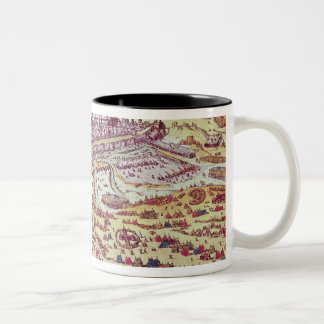 The Siege of St. Quentin, 27th July 1557 Two-Tone Coffee Mug