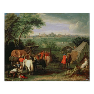 The Siege of Tournai by Louis XIV Posters