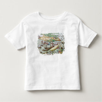 The Siege of Tunis or La Goulette by Charles V Toddler T-Shirt