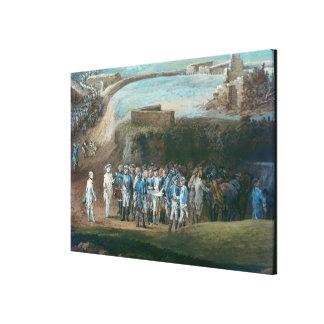The Siege of Yorktown Canvas Print