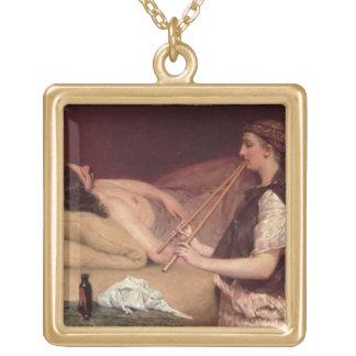 The Siesta, 1868 (oil on panel) Pendants