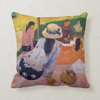 The Siesta - Paul Gauguin Pillow Throw Cushions