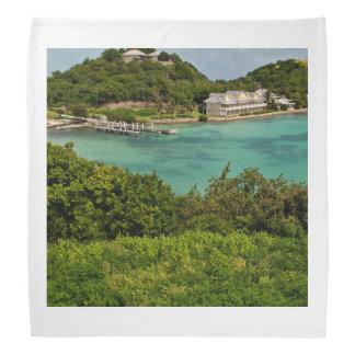 The Sightly Bay Of Antigua Bandanas