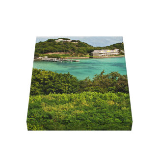 The Sightly Bay Of Antigua Gallery Wrap Canvas