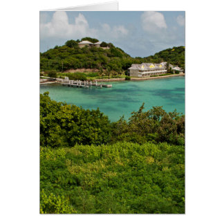 The Sightly Bay Of Antigua Greeting Card