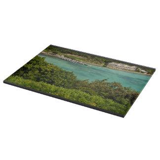 The Sightly Bay Of Antigua Cutting Board