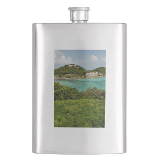 The Sightly Bay Of Antigua Flasks