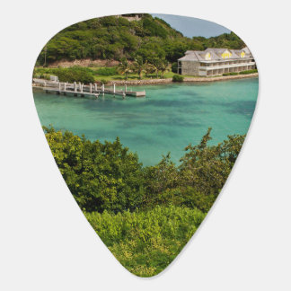 The Sightly Bay Of Antigua Plectrum