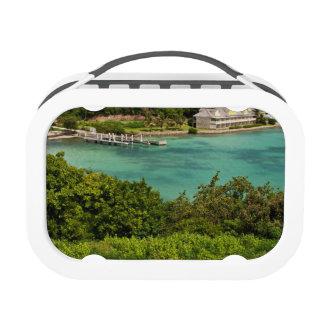 The Sightly Bay Of Antigua Lunchboxes