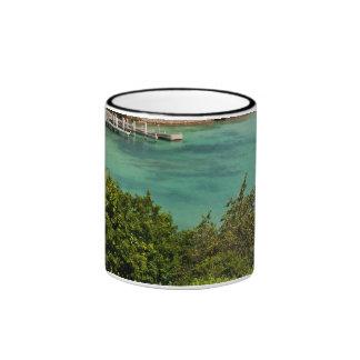 The Sightly Bay Of Antigua Ringer Mug