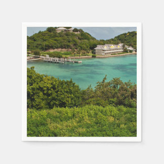 The Sightly Bay Of Antigua Disposable Serviette