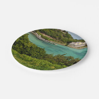 The Sightly Bay Of Antigua 7 Inch Paper Plate