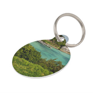 The Sightly Bay Of Antigua Pet ID Tags