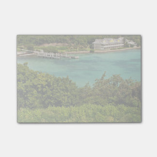 The Sightly Bay Of Antigua Sticky Notes