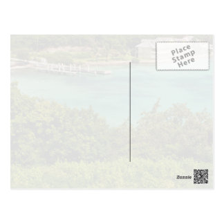 The Sightly Bay Of Antigua Postcard