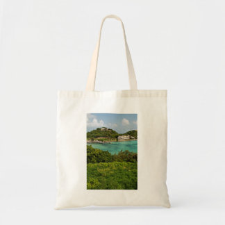 The Sightly Bay Of Antigua Budget Tote Bag
