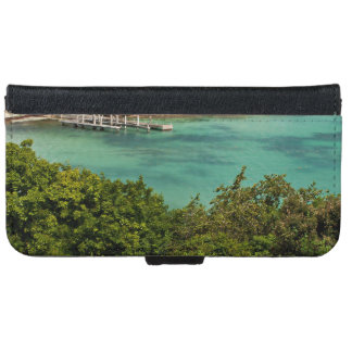 The Sightly Bay Of Antigua iPhone 6 Wallet Case