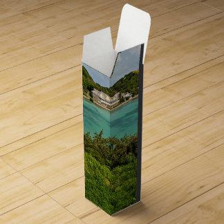 The Sightly Bay Of Antigua Wine Bottle Box
