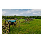 The Sights Of The Shiloh Military Park In Shiloh Poster
