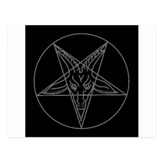 The Sigil of Baphomet Postcard