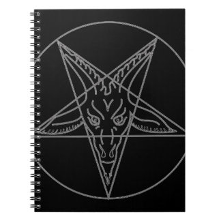 The Sigil of Baphomet Spiral Notebook
