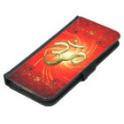 The sign om in gold samsung galaxy s5 wallet case