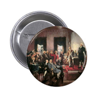 The Signing of the Constitution Pinback Buttons