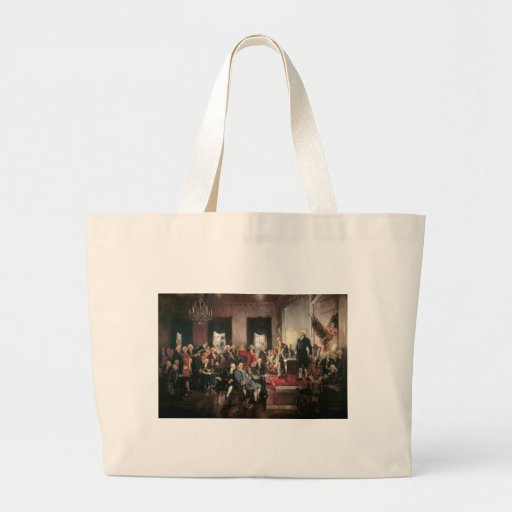 The Signing of the Constitution Tote Bags
