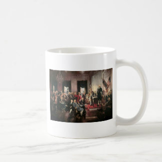 The Signing of the Constitution Basic White Mug