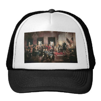 The Signing of the Constitution Cap