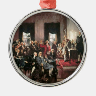 The Signing of the Constitution Christmas Tree Ornaments