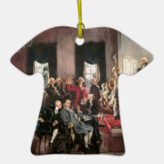 The Signing of the Constitution Ceramic T-Shirt Decoration