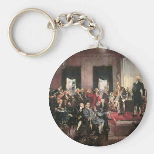 The Signing of the Constitution Key Chains
