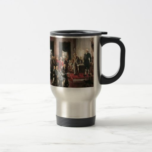 The Signing of the Constitution Coffee Mugs