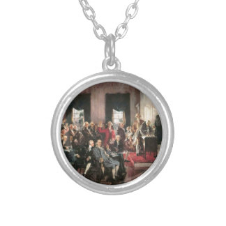 The Signing of the Constitution Personalized Necklace