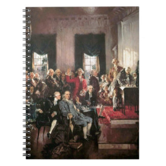 The Signing of the Constitution Spiral Note Book