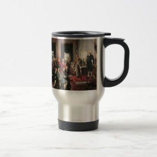 The Signing of the Constitution Stainless Steel Travel Mug