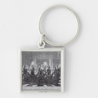 The Signing of the Treaty of Utrecht Key Ring