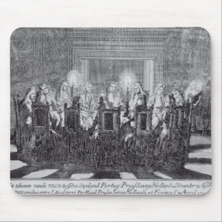 The Signing of the Treaty of Utrecht Mouse Mat