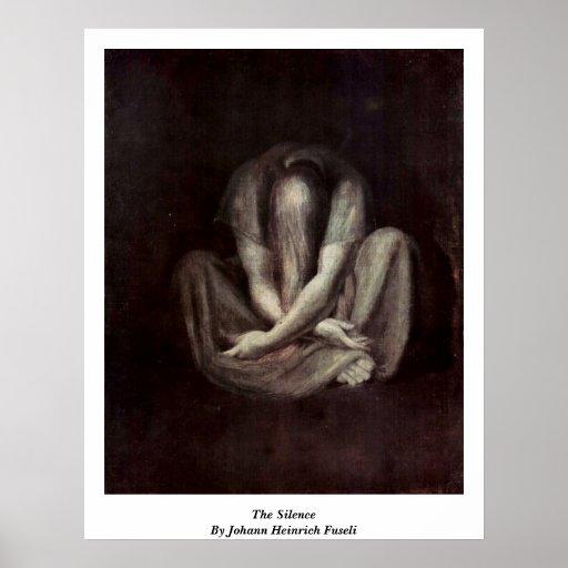 The Silence By Johann Heinrich Fuseli Print